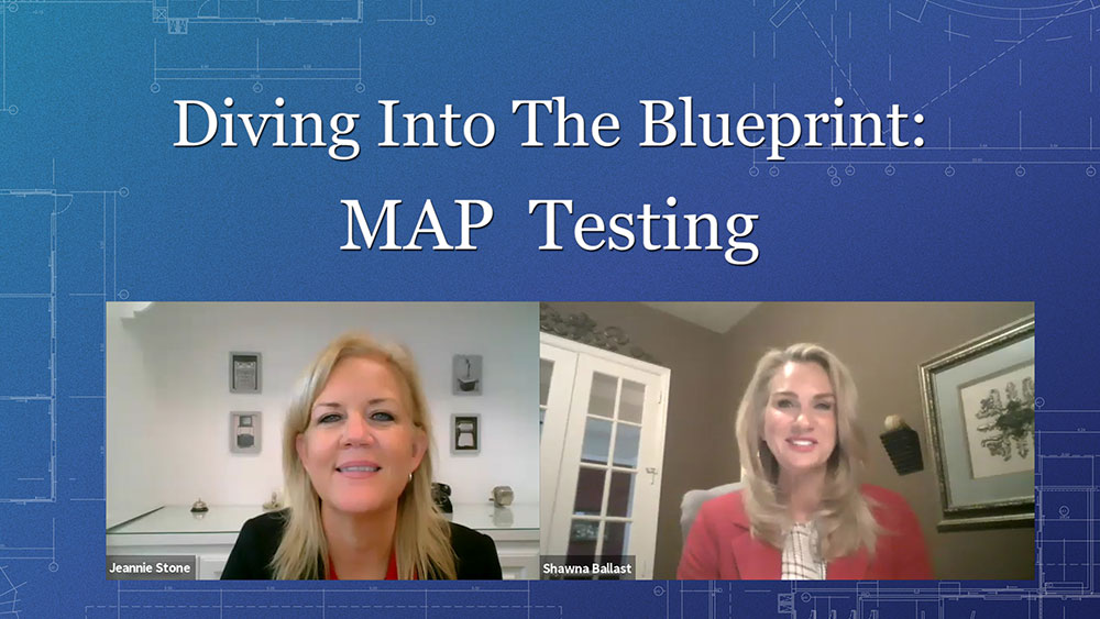 Diving into the blueprint: map testing