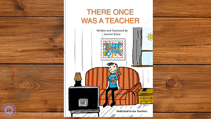 there once was a teacher book cover